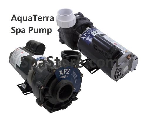 AquaTerra Spa Pump 77328 Replacement 1.5HP, 1.5 Horsepower, 115 Volt, Two Speed, Aqua-Flo Flo-Master XP2 Fits models Adriana, Benicia, Newporter, Palisades, Toscano, Transport, Verona
