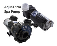 AquaTerra Spa Pump 77328 Replacement 1.5HP, 1.5 Horsepower, 115 Volt, Two Speed, Aqua-Flo Flo-Master XP2 Fits models Adriana, Benicia, Newporter, Palisades, Toscano, Transport, Verona