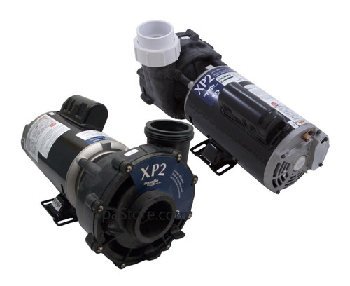 AquaTerra Spa Pump Replacement 2.0 HP / 3.6 MBHP, 230 Volt, Two Speed, Aqua-Flo Flo-Master XP2eFits models Adriana, Benicia, Newporter, Palisades, Toscano, Transport, Verona