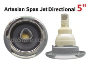 "5"" Directional Jet Artesian Spas, Island Spas, 03-1402-52, Jet Insert , Helix, Directional, Stainless 2007-2012"