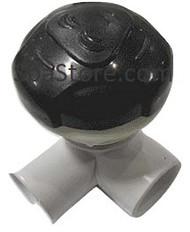 "Artesian Platinum Elite Spas Waterfall Valve Assembly 2013+ Black Rounded Knob 2.75"" Diameter"