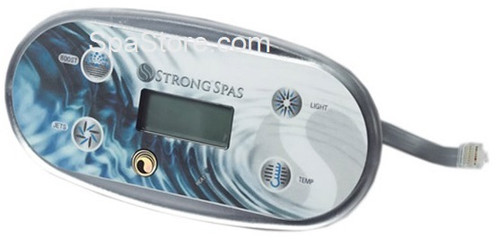 Strong Spas Topside Control Panel 4 Button Boost