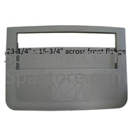 """04-0016-52 Artesian Spas Platinum Weir Filter Gate New Style for 2007-2013 size: 23-1/4"""" wide x 15-3/4"""""""