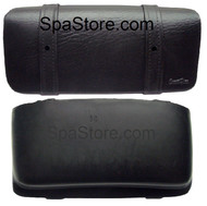 Coast Spas Pillow Straight Medium, Black with Two Screw Holes in Front Pillow Strap
