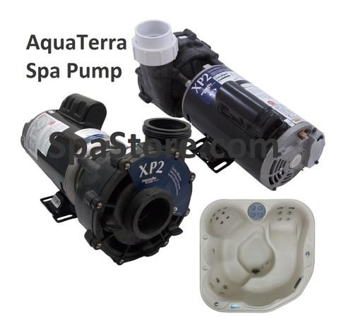 AquaTerra® Transport II Spa Pump 77407, 1.5 HP, 115 Volt, Two Speed, Aqua-Flo Flo-Master XP2