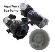 Current Version Drop In Direct Fit AquaTerra® Newport Spa Pump 77407, 1.5 HP, 115 Volt, Two Speed, Replaced XP2  Watkins 1431701-01