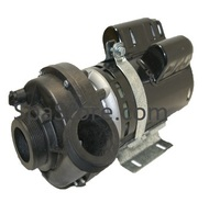 2 Speed 2.5 HP Jacuzzi 2005 Spa Pump 230 Volt Replaced Emerson T55MWCCE-1208 MC04C-48Y Wet End Discharge 1:30 Clock Position