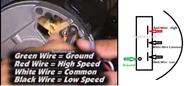 CURRENT VERSION 2 Speed 2.5 HP Sundance® Spa Pump 230 Volt Emerson T55MWCCE-1208