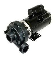 "2 Speed 2.5 HP Sundance Cayman 2003 Spa Pump 230 Volt 2"" Plumbing Replaced Emerson T55MWCCE-1208"