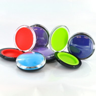 Plastic and Silicone Compact Container