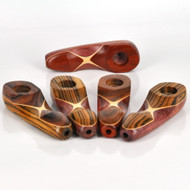 """QUICKDRAW WOOD PIPE 3 1/2"""" - USA"""