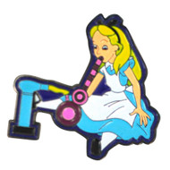 Alice Dabbing In Wonderland Hat Pin