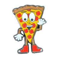 Cartoon Pizza Guy Hat Pin