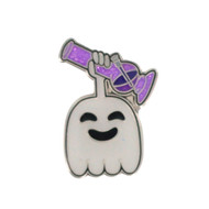 """High"" Five Ghost Hat Pin"