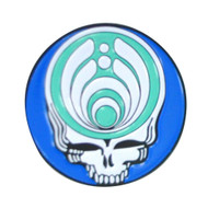 Blue Ripple Stealie Hat Pin Limited Edition*