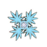 Chakra Leaves (3 Sets)  Hat Pin