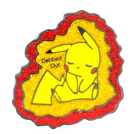 Dabbed Out Pikachu Hat Pin