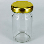 "Jar With Lid 3"" X 1.5"""