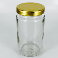 "Tall Jar With Lid 3.5"" X 2"""