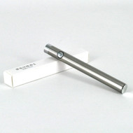 Slim 510 Threaded Battery w/ Button (SILVER)