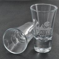 2 oz Shot Glass (ENGRAVED)