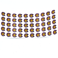 "50 Pack Colorado Local Glass Stickers .25"""