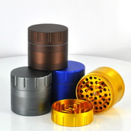 63MM Advanced 4 Piece Grinder (Assorted Colors) Great For Engraving!
