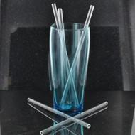 "8"" Reusable Glass Straw"
