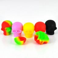 Small Silicon Skull Container 3ml