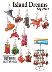Leather Animal Keychains