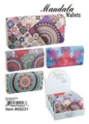 Mandala Womens Wallet Assorted