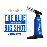Limited Edition Blue Big Shot Butane Torch, By Blazer