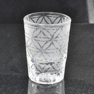Sacred Geometry Laser Engraved Libbey 5126 2oz Shot Glass (Full Wrap)