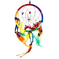 """Baby Rainbow Dreamcatchers 4 3/4"" Rainbow Dreamcatcher"