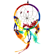 """Baby Rainbow Dreamcatchers 4 3/4"" Rainbow Dreamcatcher"