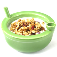 ROAST AND TOAST GREEN CEREAL BOWL