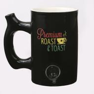 """BLACK ROAST AND TOAST MUG WITH """"RASTA"""" 82346"""