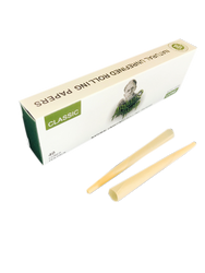 "Afghan Hemp 1 1/4"" Natural Unrefined Cone Rolling Papers Multi Pack (32 Cone Pack)"