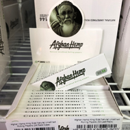 Afghan Hemp King Size Natural Unrefined Rolling Papers (32 Leaf Pack)