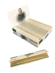 Afghan Hemp King Size Natural Unrefined Rolling Papers (24 Pack Case)