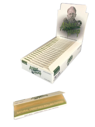 "Afghan Hemp 1 1/4"" Natural Unrefined Rolling Papers (24 Pack Case)"