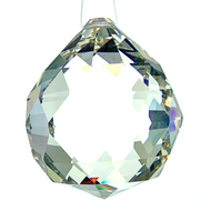 """30mm Crystal Faceted Ball Leaded CR92400/30L  1.1"""""""