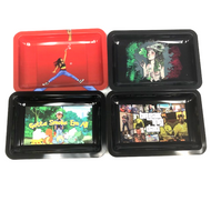 Medium Tin Rolling Tray (Assorted Styles)