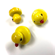 Lil' Rubber Ducky Glass Carb Cap