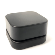 5ml Qube Jar Black on Black Child Safe