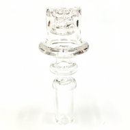 Quartz Enail 20mm w/ Reactor Core 14mm Male