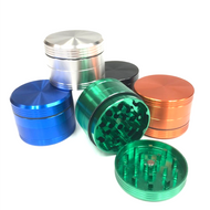 Aluminum Matrix 4pc Grinder 50mm (Assorted Colors)
