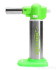 Blazer Big Buddy Turbo Torch, Green & Silver