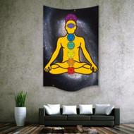 "Chakra Wall Hanging Tapestry 30""x40"""
