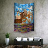"Hunter S. Thompson Wall Hanging Tapestry 30""x40"""